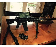 Combo 110 quart yeti and smith and wesson ar15