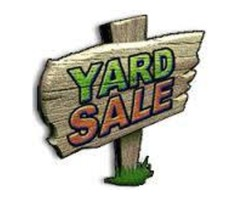 Indoor and Outdoor Yard Sale Every Friday and Saturday