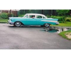1957 Chevrolet BELAIR 4DOOR HARDTOP