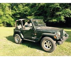 1997 4.0 Sahara Jeep Wrangler