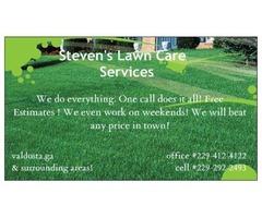 Steven's Lawn Care Service