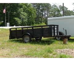 5 x 10 open trailer