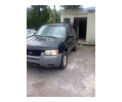 2001 Ford Escape parting out