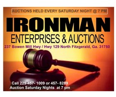 Ironman Enterprises & Auctions.