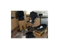 STOKKE XPLORY V3 BABY STROLLER (CARRY COT + CAR SEAT)